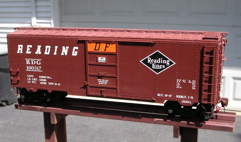 Building the Precision Steel Car Boxcar Kit