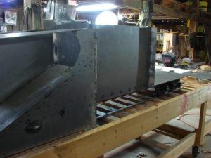 16 wing wells welded up