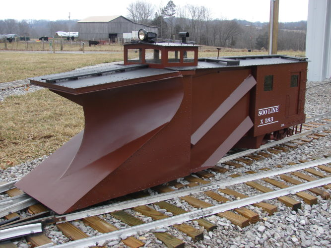 Building the 1940 Soo Line Russell Snow Plow